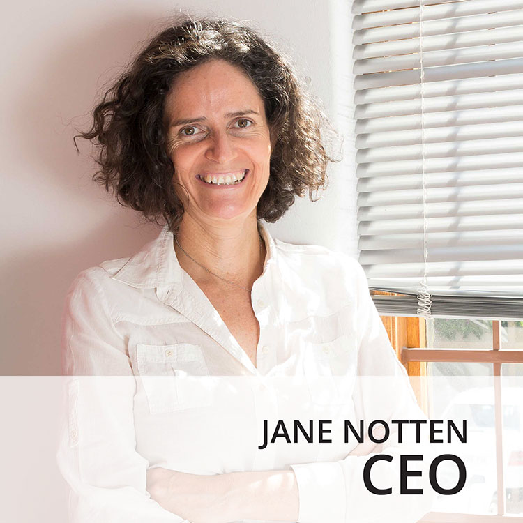 Jane Notten - CEO
